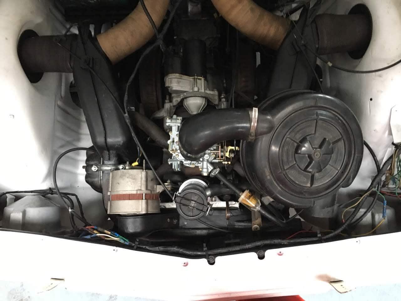 refection du moteur carburation peinture allumage échappement